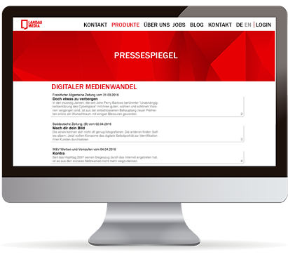 Press review service